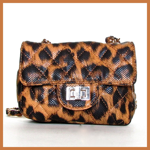 Small Leopard Cross-body