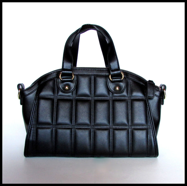 Black Quilted Handbag
