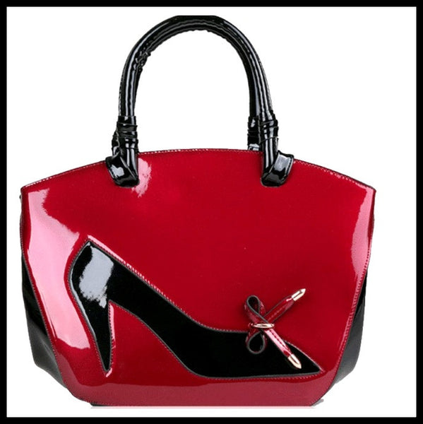 Cranberry Shoe Handbag