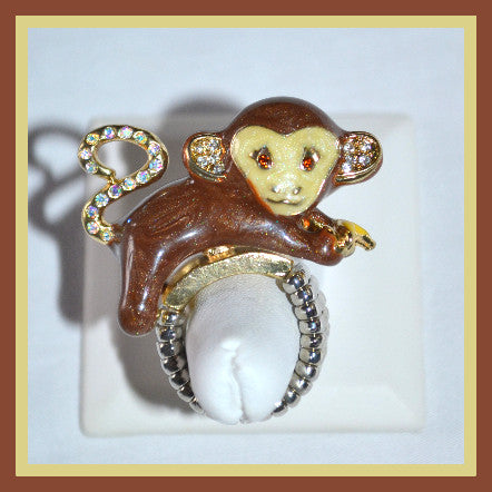 Monkey Stretch Ring