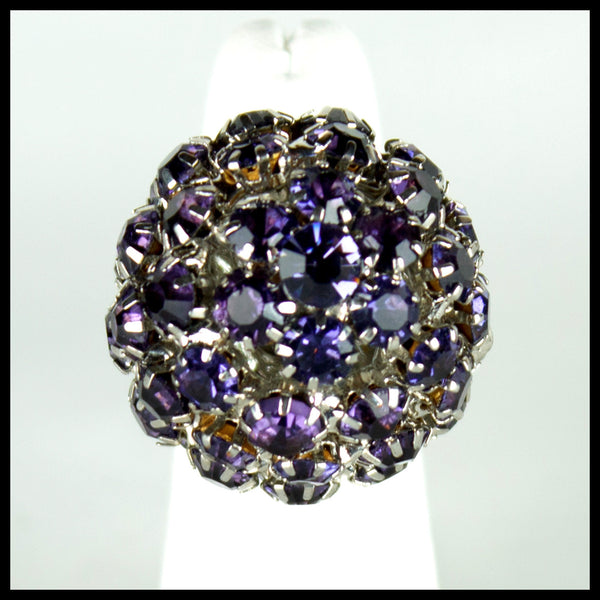 Purple Ball Ring