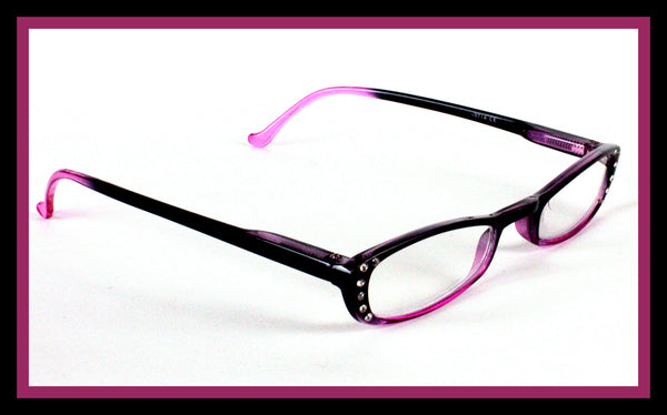 Purple & Black Reading Glasses