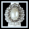 Large Oval Pearl Ring