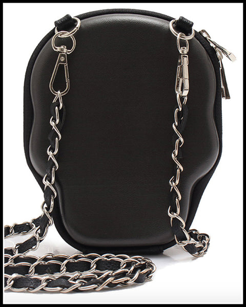 Outlaw Country White Skull Bag