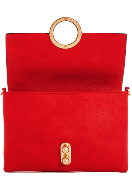 Red Trendy Clutch