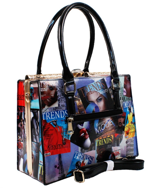Magazine Cover Fashion Handbag
