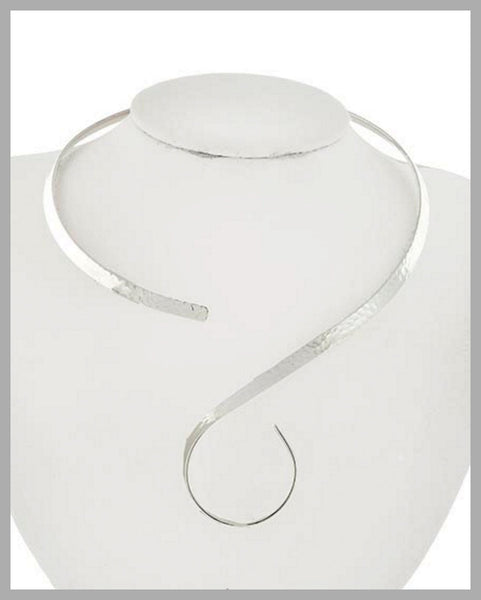 Silver Choker Necklace