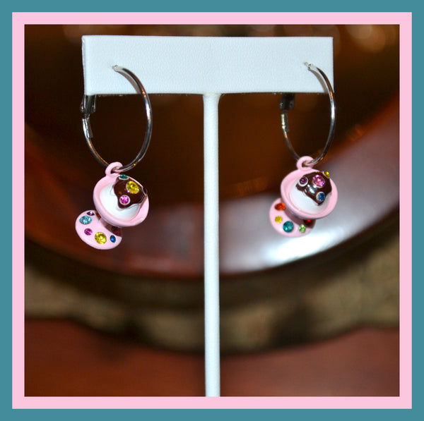 Ice Cream Sundae Earrings