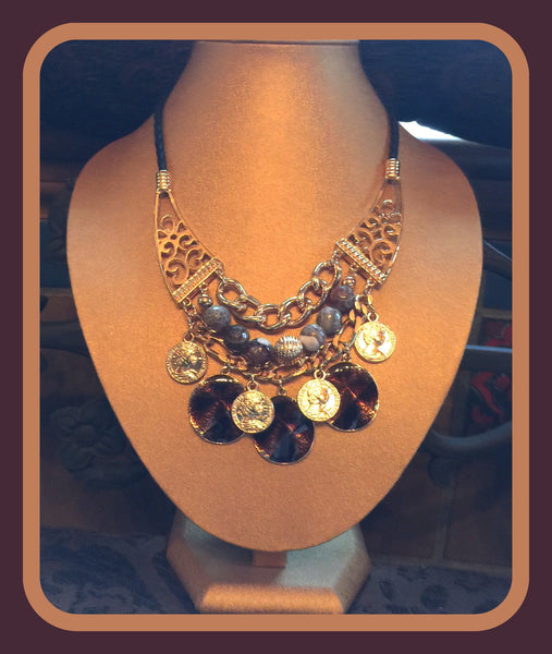 Ornate Charm Necklace