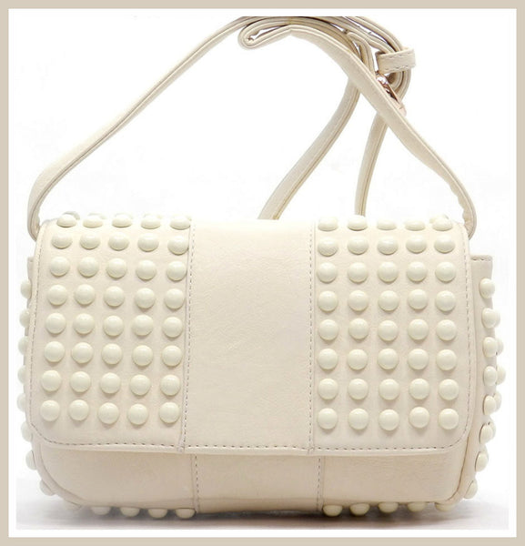 Beige Fashion Messenger Bag