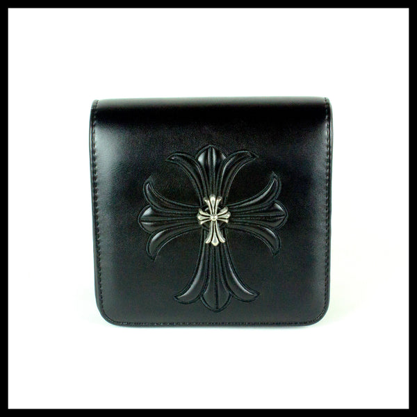 Black Cross Handbag