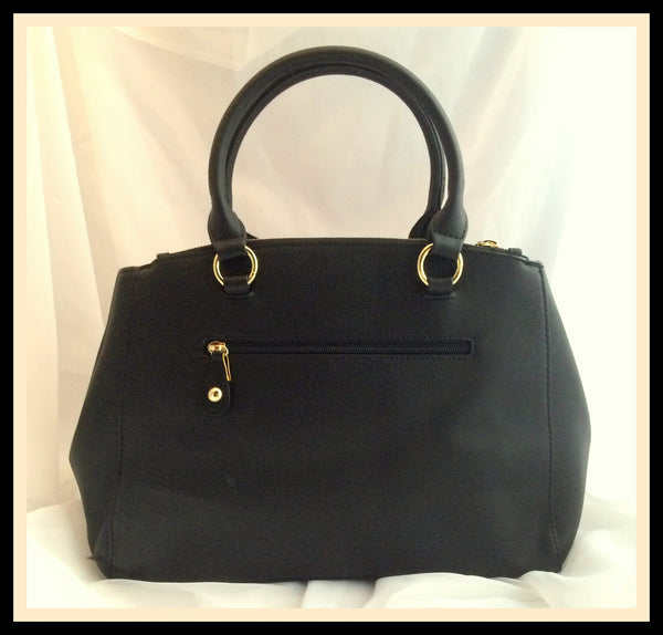 Black & Tan Handbag