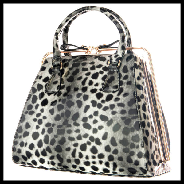 Cheetah Rail Handbag