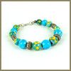 Hand Painted Bead Bracelet