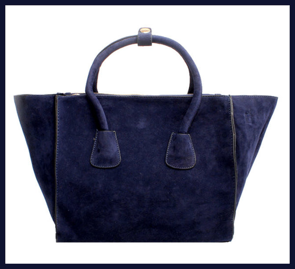 Blue Winged Handbag