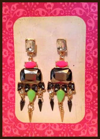 Multi-Colored Earrings