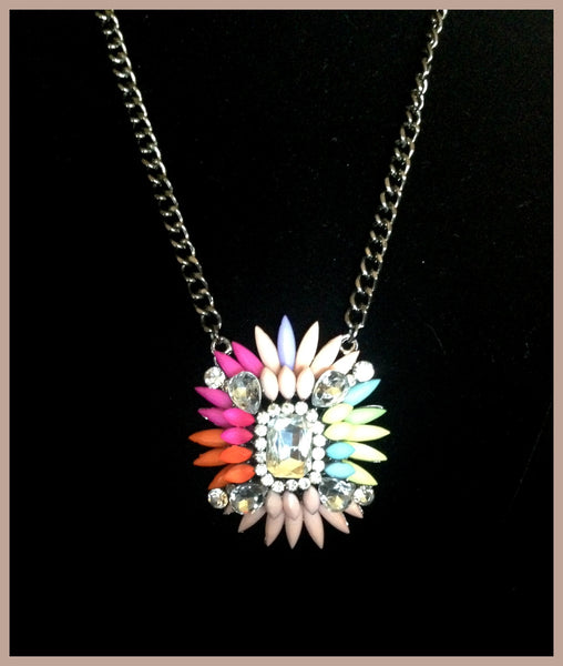 Colorful Pendant Necklace