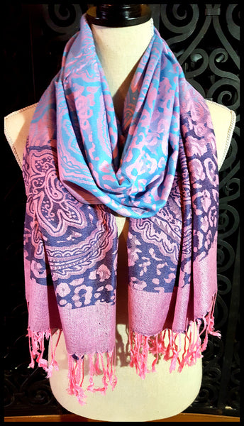 Cotton Candy Pashmina Scarf