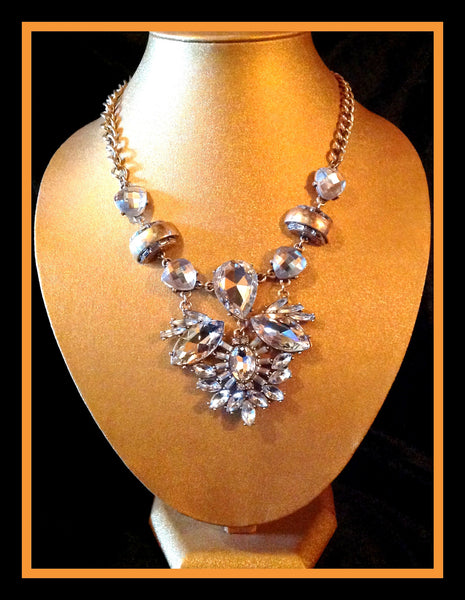 Crystal & Rhinestone Necklace