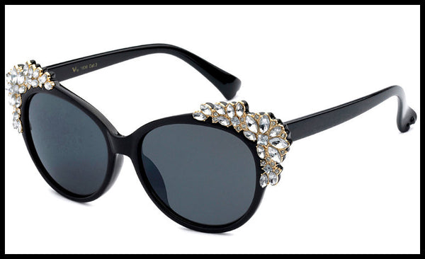 Rhinestone Stylish Sunglasses
