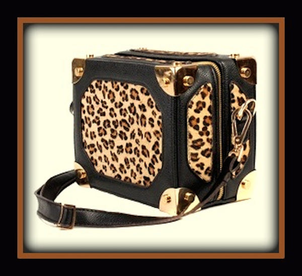 Leopard Box Bag