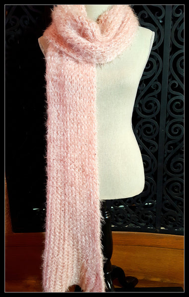 Betsey Johnson Pale Pink Scarf