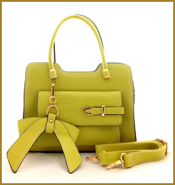 Apple Green Provençal Bag