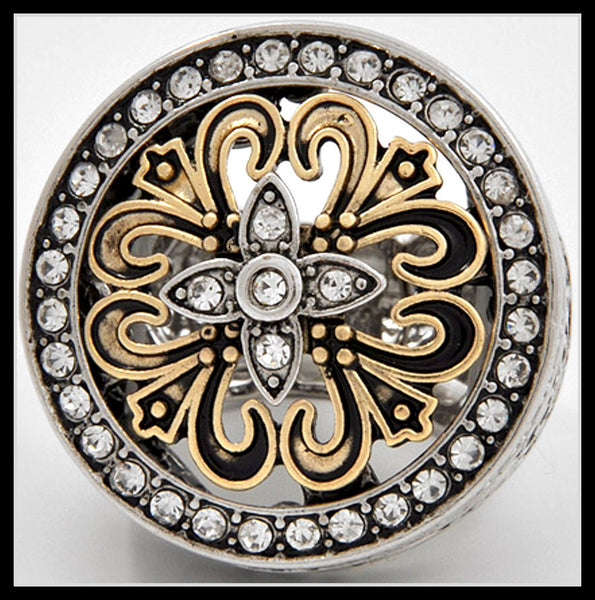 Baroque Medallion Ring