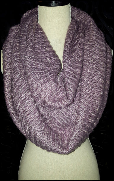 Light Purple Infinity Scarf