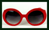 Red, Baroque Sunglasses