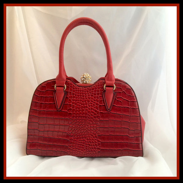 Ruby Red Handbag