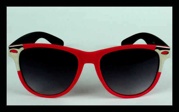 Red & Black Wayfarers