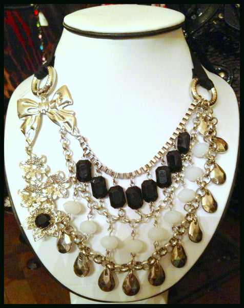 Designer Inspired Evening Necklace