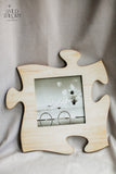 Wood Puzzle Personalized picture frame