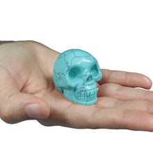 Load image into Gallery viewer, Gemstone Skull - Turquoise - Enchanted Gifts by Karen