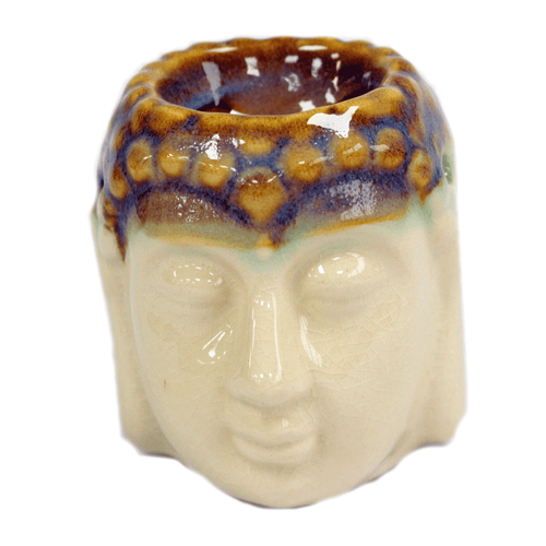 Buddha Oil Burner - Ivory & Mint - Enchanted Gifts by Karen
