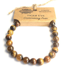 Load image into Gallery viewer, Gemstone Power Bracelet - Tiger Eye - Enchanted Gifts by Karen