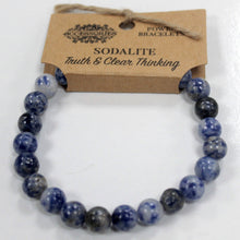 Load image into Gallery viewer, Gemstone Power Bracelet - Sodalite - Enchanted Gifts by Karen