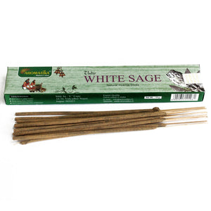 Aromatika Vedic White Sage Incense Sticks - Enchanted Gifts by Karen