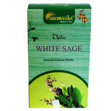 Load image into Gallery viewer, Aromatika Vedic White Sage Incense Sticks - Enchanted Gifts by Karen