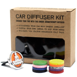 Aromatherapy Car Diffuser Kit - Lotus Buddha - Enchanted Gifts by Karen