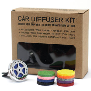 Aromatherapy Car Diffuser Kit - Auto Wheel - Enchanted Gifts by Karen