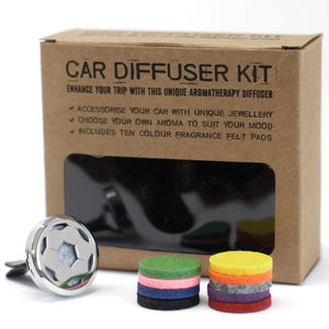 Aromatherapy Car Diffuser Kit - Football - Enchanted Gifts by Karen