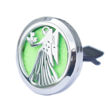 Load image into Gallery viewer, Aromatherapy Car Diffuser Kit- Guardian Angel-30mm - Enchanted Gifts by Karen