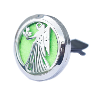 Aromatherapy Car Diffuser Kit- Guardian Angel-30mm - Enchanted Gifts by Karen