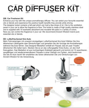 Load image into Gallery viewer, Aromatherapy Car Diffuser Kit - Football - Enchanted Gifts by Karen