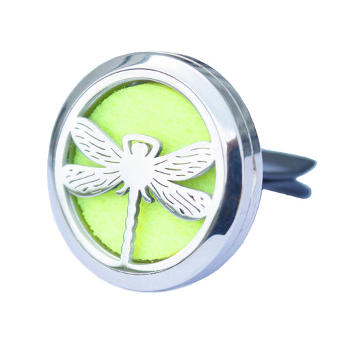 Aromatherapy Car Diffuser Kit - Dragonfly -30mm - Enchanted Gifts by Karen