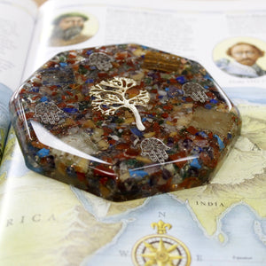 Orgonite Desk Power Pack - Tree of Life - Lrg - Enchanted Gifts by Karen