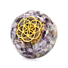 Load image into Gallery viewer, Orgonite Desk Power Packs - Amethyst Dome - Enchanted Gifts by Karen