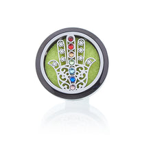 Load image into Gallery viewer, Aromatherapy Car Diffuser Kit - Hamsa-30mm - Enchanted Gifts by Karen